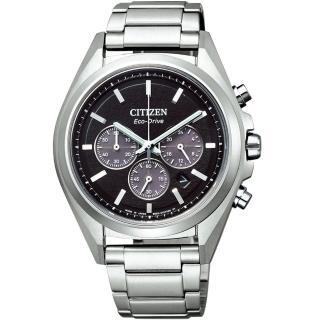 【CITIZEN 星辰】光動能超級鈦計時手錶(CA4390-55E)  CITIZEN 星辰