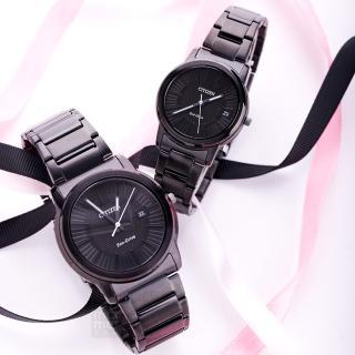【CITIZEN 星辰】Eco-Drive 極致時尚情人對錶(AW1215-54E_FE6015-56E)好評推薦  CITIZEN 星辰