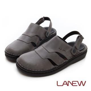 【La new】雙密度PU涼鞋(男224055044) 推薦  La new