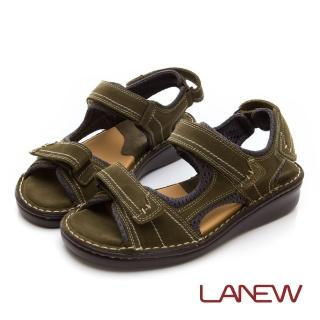 【La new】雙密度PU涼鞋(男224055165)推薦折扣  La new