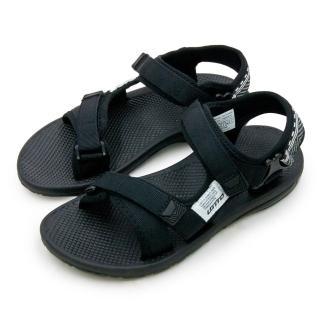 【LOTTO】女 輕量流行織帶運動涼鞋 街頭流行時尚系列(黑 6160)推薦折扣  LOTTO
