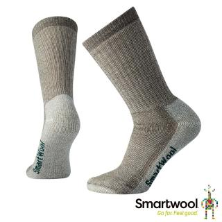 【SmartWool】女中級減震型徒步中長襪(灰褐)  SmartWool