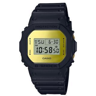 【CASIO 卡西歐】G-SHOCK 復刻經典電子男錶 樹脂錶帶 金色錶面 防水200米(DW-5600BBMB-1D)推薦折扣  CASIO 卡西歐