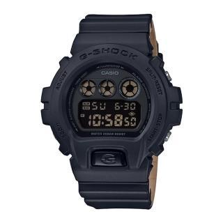 【CASIO 卡西歐】G-SHOCK 潮流休閒電子男錶 樹脂錶帶 黑色錶面 防水200米(DW-6900LU-1D)  CASIO 卡西歐