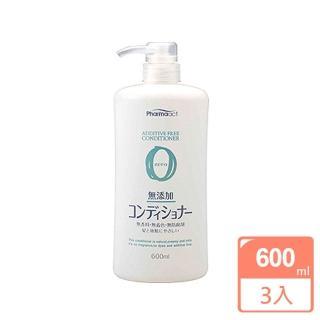 【KUM 熊野】日本zero無添加潤髮乳600ML(3入) 推薦  KUM 熊野
