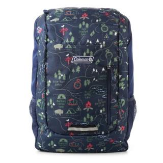 【美國Coleman】SCHOOL後背包CM-32972M000(露營地圖)強力推薦  美國Coleman