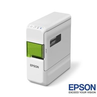 【EPSON】LW-C410文創風家用藍芽手寫標籤機+黃底黑字+黑底金字/12mm(2入組)  EPSON