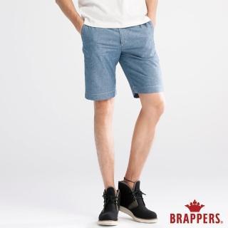 【BRAPPERS】男款 HM中腰系列-男用五分褲(藍)好評推薦  BRAPPERS