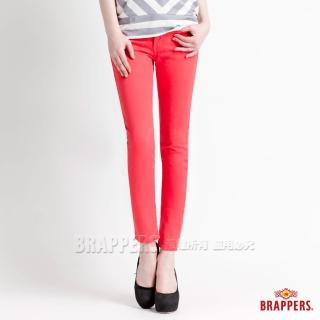 【BRAPPERS】女款 新美腳Royal系列-彈性九分褲(紅) 推薦  BRAPPERS