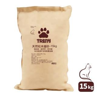 【TRENY】天然松木貓砂 - 15kg  TRENY