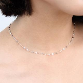 【玖飾時尚】925純銀精緻葉片項鍊(925純銀)  玖飾時尚