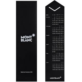 【MONTBLANC 萬寶龍】2018不鏽鋼書夾/書籤(黑色)真心推薦  MONTBLANC 萬寶龍