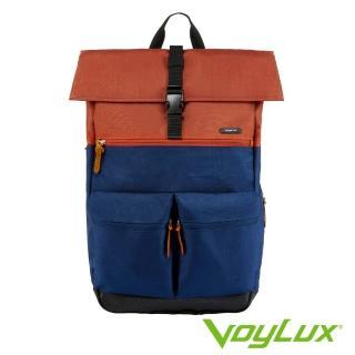 【VoyLux 伯勒仕】VENTURE系列雙口袋配色後背包三色33815xx 推薦  VoyLux 伯勒仕