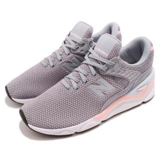 【NEW BALANCE】休閒鞋 WSX90CLGB 低筒 運動 女鞋 紐巴倫 襪套 輕量 透氣 穿搭 球鞋 灰 粉(WSX90CLGB)好評推薦  NEW BALANCE