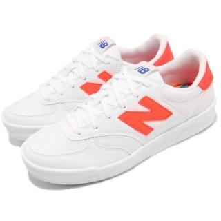 【NEW BALANCE】休閒鞋 300CF D 寬楦 女鞋 紐巴倫 低筒 球鞋 N字鞋 穿搭 網美 白橘(WRT300CFD)好評推薦  NEW BALANCE