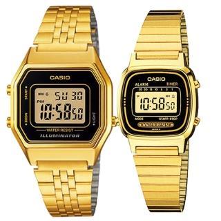 【CASIO 卡西歐】簡約時尚男女對錶(LA-680WGA-1 +LA-670WGA-1)好評推薦  CASIO 卡西歐