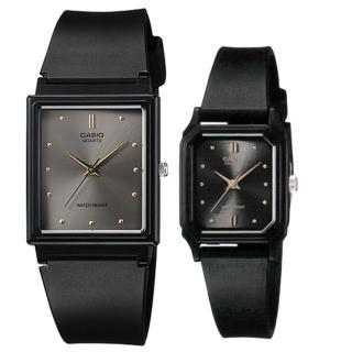 【CASIO 卡西歐】簡約時尚男女對錶(MQ-38-8A+LQ-142E-1A)  CASIO 卡西歐