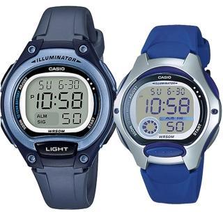 【CASIO 卡西歐】實用運動熱賣男女對錶(LW-203-2A+LW-200-2A)強力推薦  CASIO 卡西歐