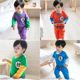 【Baby童衣】長袖中國式復古斜開綁帶武道服 82055(共4色)好評推薦  Baby童衣