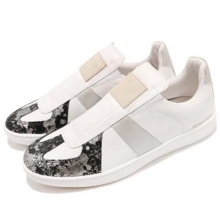 【ROYAL Elastics】休閒鞋 Smooth 時尚 男鞋 窄版 真皮 潮流 復古 球鞋 穿搭 白 銀(01583089)好評推薦  ROYAL Elastics