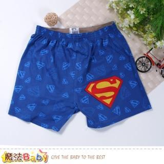 【魔法Baby】男性褲子 電影超人授權正版男性居家休閒短褲(k50917)  魔法Baby