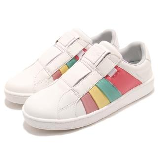 【ROYAL Elastics】休閒鞋 Prince Albert 運動 女鞋 低筒 懶人鞋 皮革 橡膠大底 穿搭 白 彩(91483143)  ROYAL Elastics