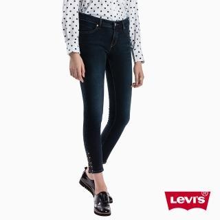 【LEVIS】牛仔褲 顯瘦 提臀 纖腿 / Revel 中腰緊身窄管(專利塑型科技)好評推薦  LEVIS