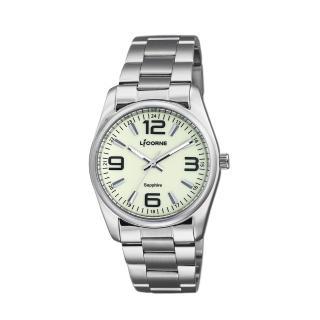 【LICORNE】力抗 都會款 簡約風格手錶(銀 LT132BWGA-B)強力推薦  LICORNE