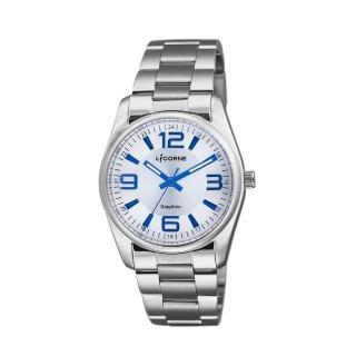 【LICORNE】力抗 都會款 簡約風格手錶(白/銀 LT132BWWA-N)強力推薦  LICORNE