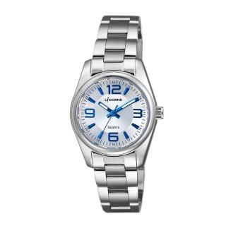【LICORNE】力抗 都會款 簡約風格手錶(白/銀LT132LWWA-N)  LICORNE