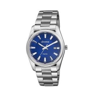 【LICORNE】力抗 都會款 簡約風格手錶(藍/銀 LT132BWNI-W)推薦折扣  LICORNE