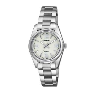 【LICORNE】力抗 都會款 簡約風格手錶(銀 LT132LWGA-W)  LICORNE