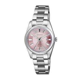 【LICORNE】力抗 都會款 簡約風格手錶(粉/銀 LT132LWPI-W) 推薦  LICORNE