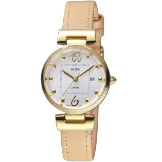 【ALBA】趣味幾何時尚腕錶(AH7R24X1 VJ22-X281J)  ALBA