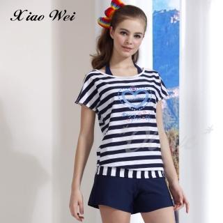 【小薇的店】台灣製泳之美品牌時尚四件式泳裝(NO.6002)  小薇的店