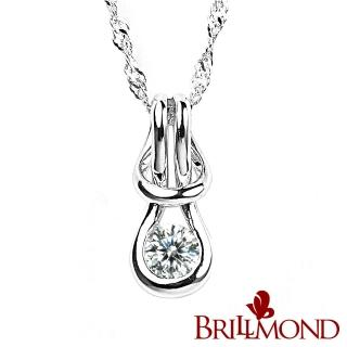 【BRILLMOND JEWELRY】深情相擁10分真鑽墜(10分天然美鑽)  BRILLMOND JEWELRY