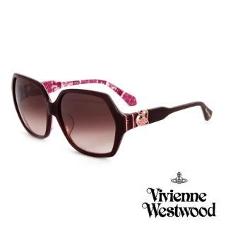 【Vivienne Westwood】英國薇薇安魏斯伍德 英倫龐克太陽眼鏡(粉紅 VW788)  Vivienne Westwood