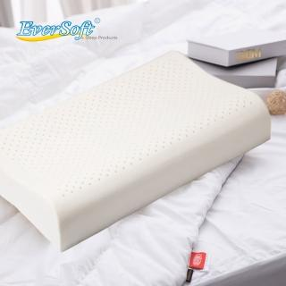 【EverSoft 寶貝墊】乳膠枕-人體工學型 推薦  EverSoft 寶貝墊