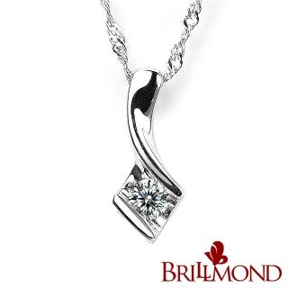【BRILLMOND JEWELRY】真情流露10分真鑽墜(10分天然美鑽) 推薦  BRILLMOND JEWELRY