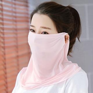 【幸福揚邑】360度防曬涼感抗UV口罩面罩2入組(雪芽)強力推薦  幸福揚邑