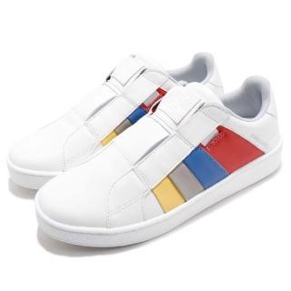 【ROYAL Elastics】休閒鞋 Prince Albert 運動 男鞋 低筒 懶人鞋 皮革 穿搭 舒適 白 彩(01483153) 推薦  ROYAL Elastics
