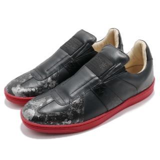 【ROYAL Elastics】休閒鞋 Smooth 低筒 運動 男鞋 懶人鞋 穿脫方便 穿搭 舒適 經典 黑 紅(01583991)  ROYAL Elastics