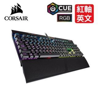【CORSAIR 海盜船】K70 RGB MK.2 電競鍵盤-紅軸英文  CORSAIR 海盜船