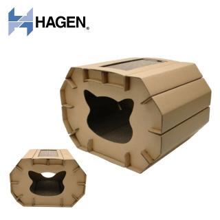 【HAGEN 赫根】貓抓樂DIY彩繪屋(34901)  HAGEN 赫根