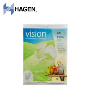 【HAGEN 赫根】新視界鳥籠專用清潔紙墊 L號(80275) 推薦  HAGEN 赫根