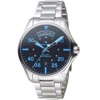 【HAMILTON 漢米爾頓】卡其航空系列Air Zermatt機械腕錶(H64625131)  HAMILTON 漢米爾頓