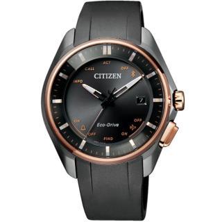【CITIZEN 星辰】古銅鈦金屬光動能藍牙腕錶(BZ4006-01E)好評推薦  CITIZEN 星辰