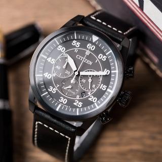 【CITIZEN 星辰】黑暗騎士光動能腕錶(CA4215-21H)強力推薦  CITIZEN 星辰
