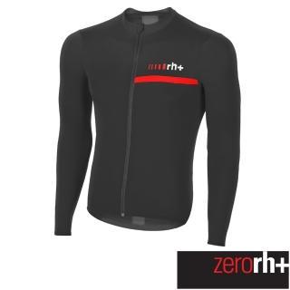 【ZeroRH+】義大利 Prime 男仕專業長袖自行車衣(黑/紅 ECU0505_930)強力推薦  ZeroRH+
