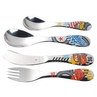 【WMF】Cars不鏽鋼兒童餐具 4件組  WMF